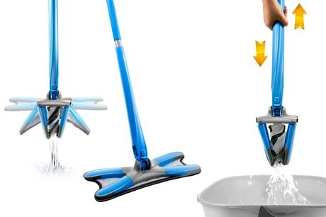 £17.99 instead of £38.94 for an X-type microfiber floor mop - save 54%
