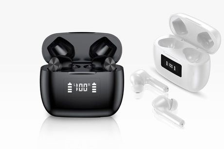 £19.99 instead of £49.99 for a pair of T9 wireless bluetooth earbuds from Arther Gold - save 60%