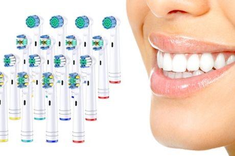 Set van 16 of 32 Oral-B-compatibele opzetborstels
