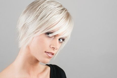 Cut, Blow-Dry, Conditioning and Optional Half Head Highlights or Full Head Colour at Hairways (Up to 57% Off)