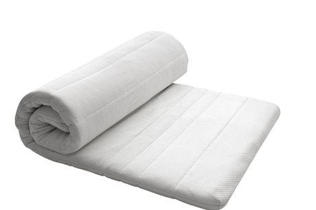 Nocturne Sleep Ultimate Topmadras 90 x 200 x 8 cm. Topmadras, aftageligt betræk og kan vaskes ved 40 grader. - T500 betræk og 5 cm koldskumkerne
