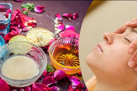 Skræddersyet til DIG efter hudtype - Prøv denne skønne behandling med 60 min. Ayurveda indisk ansigtsmassage hos ReGenerating KLINIK, værdi kr. 1000,-