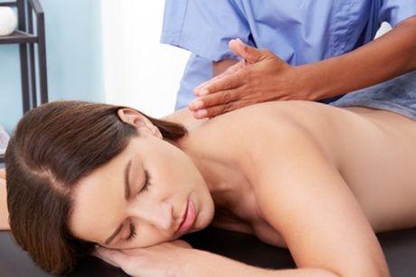 Un masaje a elegir entre diferentes opciones de 30 o 60 minutos en Ocean Soul Care (hasta 63% de descuento)