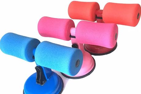 5-Levels Adjustable Fitness Assistant Equipment. The home fitness equipment occupies small area and is easy to use.The enlarged and thickened suction cup has stronger suction, and is durable to use.It can be used to train the abdomen, slim the waist and