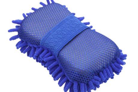 Éponge de nettoyage de voiture en microfibre. Éponge de nettoyage multifonctionnelle, idéale pour nettoyer la plupart des surfaces. Brosse sèche pour essuyer et brosse humide pour rincer. Matériau souple, doux et non pelucheux, ultrafin et sans égratignur