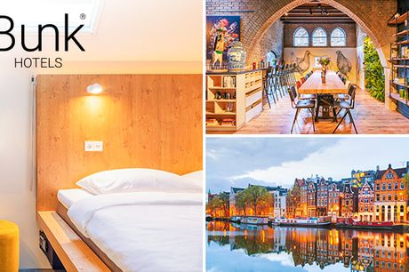 Overnachting(en) voor 1 of 2 personen in Amsterdam
