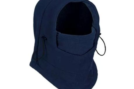 Balaclava en molleton thermique 6 en 1. Gardez votre visage, votre cou et votre tête au chaud pendant les balades glacées. Ne prenez plus de risques de voir votre visage être gelé. Fabriqué dans un matériau doux et confortable pour garder votre tête bien