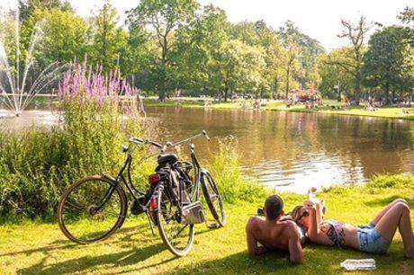 Ontdek het groen in Amsterdam: Superior tweepersoonskamer voor 2 personen bij Park Plaza Vondelpark