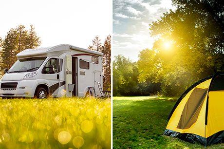 Voor 2 personen: kampeerplek incl. privésanitair