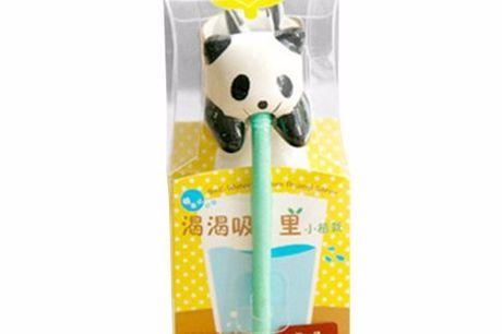 Selbsttrinkender Blumentopf. Super lustige Mini-Blumentöpfe. Tierfiguren aus Keramik die sich mittels eines Strohhalms aus einem Glas Wasser selbst versorgen. Fröhliche dein Büro oder Schreibtisch auf. Tolle Geschenkidee
