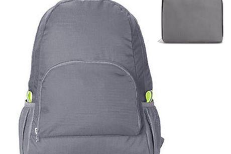 Faltbarer Rucksack. Einfach zu falten und zu verstauen.Beinhaltet viele Taschen, die eine große Anzahl von Gegenständen aufnehmen können. Hat einen schönen klassischen Look. Sehr langlebig, da er aus hochwertigem Nylon gefertigt ist. Das perfekte Geschen