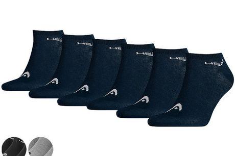 6x HEAD Basic Sneakersokken