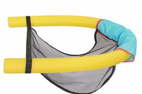 Fauteuil inclinable flottant. Asseyez-vous, flottez et détendez-vous dans la piscine. Peut supporter jusqu'à 70 kg mais peut en supporter davantage en ajoutant simplement un autre ensemble.