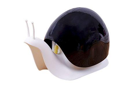 Distributeur de Savon Liquide, Escargot. Adorable distributeur de savon en forme d'escargot. Facile à remplir pour conserver le savon et la lotion. Existe en 3 couleurs: noir, blanc et marron.