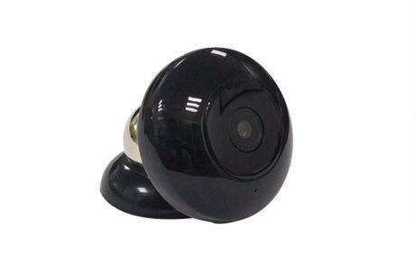 Caméra Intelligente Portable. Enregistre une vidéo pendant le chargement. Détecteur de mouvement intégré. Enregistrement en boucle activé. Disques en 1920 * 1080 HD.