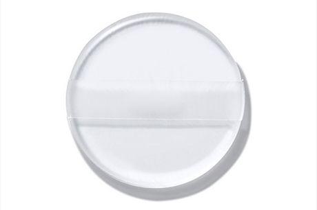 Make-up Schwamm aus Silikon. Hilfsmittel um Make-up aufzutragen. Saugt Schminke nicht auf. Schonend für die Haut und einfach zu reinigen.