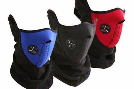 Ski-Maske. Maske für alle Freizeitsportler sowie Rad- und Motorradfahrer. Winddicht und atmungsaktiv. Unisex-Modelle in Einheitsgröße. Hergestellt aus Neopren und Thermovlies
