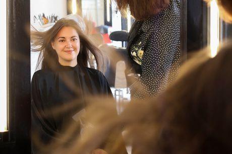 Klip evt. med striber. Nyåbnet salon: Nyd følelsen af sundt og smukt hår