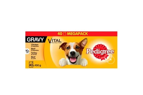 £35 for 40x100g Pedigree dog food pouches, £60 for 80x100g from Trojan Electronics 2018 Ltd - save up to ?