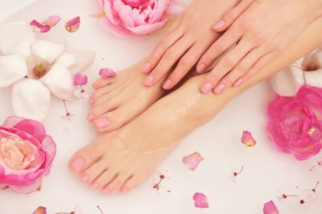 £9 instead of £15 for a manicure or pedicure for one person at Lush Nails & Beauty, Nottingham, or £15 for both - save up to 40%