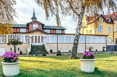 AARØSUND BADEHOTEL i Sønderjylland - Ophold med 4-retters gourmetmiddag, morgenbuffet m.m.
