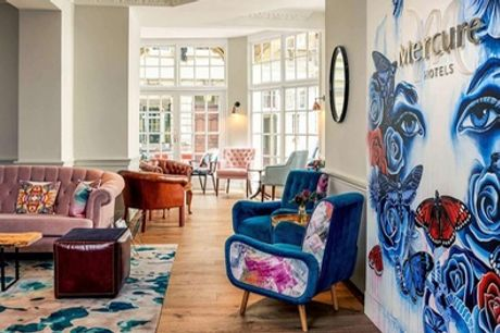 Bristol: Standard Double Room for Two at 4* Mercure Bristol Grand Hotel