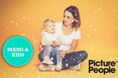 MAMI&KIDS-Fotoshooting bei PicturePeople inkl. Make-up und 2-4 Bildern als Ausdruck & Datei (bis zu 85% sparen*)
