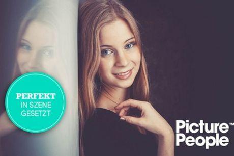 BEAUTY- oder MEN-Fotoshooting bei PicturePeople inkl. Make-up und 3-4 Bildern (bis zu 76% sparen*)