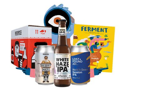 £9.99 for a one-month craft beer subscription with eight beers of your choice plus a magazine and snack delivered monthly from Beer52 - save 58%