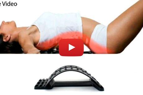 Slip for rygsmerter med den smarte rygudstrækker til hjemmet
