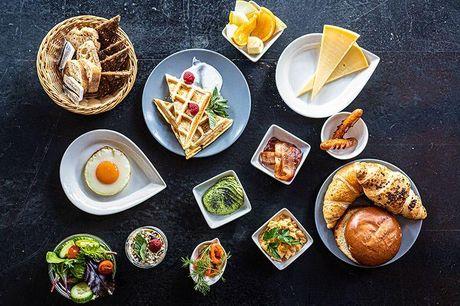 Gavekort til royal brunch, frokost eller aftensmad Restaurantens koncept er amerikansk inspireret med et royalt touch, og det er med til at give en smagsoplevelse, du med garanti vil elske - og du kan være sikker på at få alt, hvad et madelsker-hjerte beg
