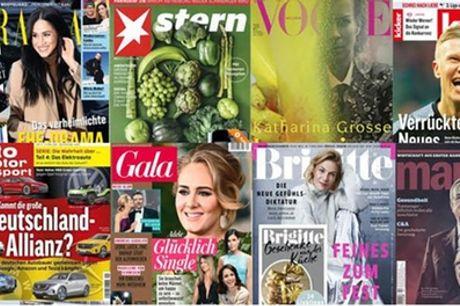 Halbjahres-Abo geschenkt für eine Zeitschrift, wählbar aus 30 Zeitschriften, von Aboheld