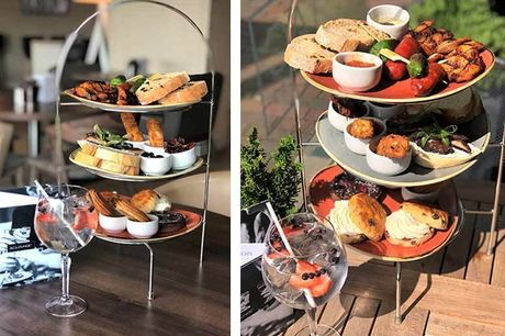 £24 instead of £68 for a Spanish-style afternoon tea and gin for two people at the 4* AC Hotel by Marriott Manchester Salford Quays - Save 65%