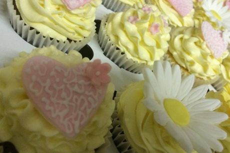 Choice of 72, 96 or 144 Bespoke Wedding or Party Cupcakes from Cupcakes 2 Love