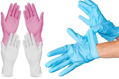 100 stuks nitril wegwerphandschoenen