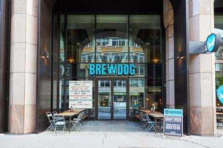 Choice of Pizza or Burger with Headliner  Beer; Eat-In or Takeaway, Nationwide at BrewDog (Up to 47% Off)