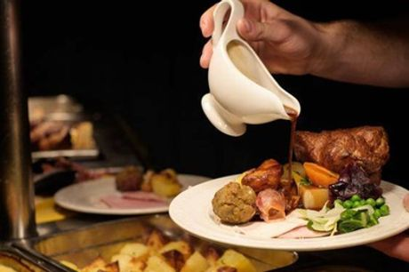Sunday Carvery Meal for Up to Two Children or Adults at Woolston Manor