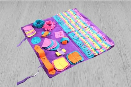 From £10.99 for a pet puzzle sniff mat from  Hey4Beauty - save up to 63%