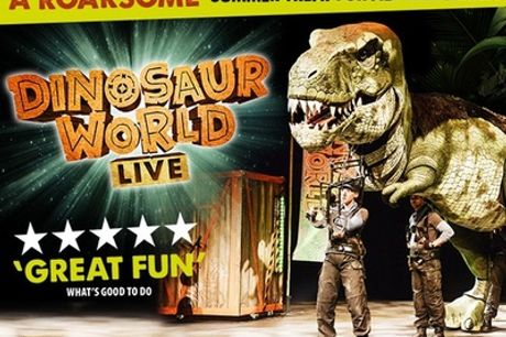42% Off tickets to see Dinosaur World Live