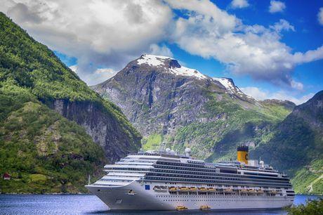 Tag på et 8 dages krydstogt i 2021 og oplev den eventyrlige norske kyst - helpension og oplevelser for livet er inkluderet