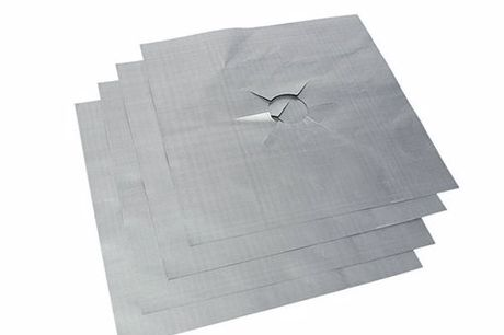 Cooking Sheets. No more grease or food residue stuck to your stove. Prevent unnecessary cleaning. Very easy to customize. Easy to clean with some warm water or in dishwasher