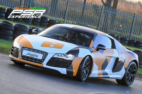 £39 for a three-lap supercar driving experience in an Audi R8 V10, £59 for six-laps, or £89 for nine-laps at PSR Experience - choose from eight track locations