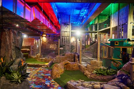 £7 instead of £11 for crazy golf entry for two people at Amazonia, Bolton - save 36%