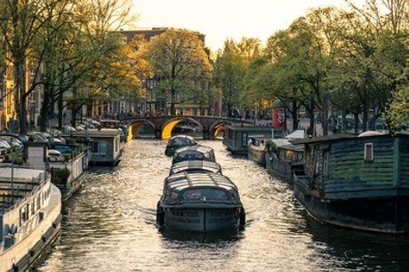 Amsterdam: rondvaart incl. barbecue of arrangement naar keuze bij Fun Amsterdam