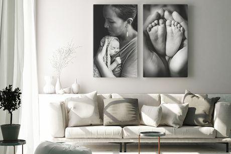 Fotolærred til væggen. Omdan dine favoritminder til kunst på væggene - INKL. FRAGT!