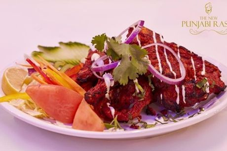 Two-Course Indian Meal for Up to Eight at The New Punjabi Rasoi
