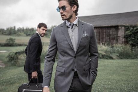 1 costume sur-mesure avec une chemise ou retouches illimitées en option chez Tailored Suit Paris