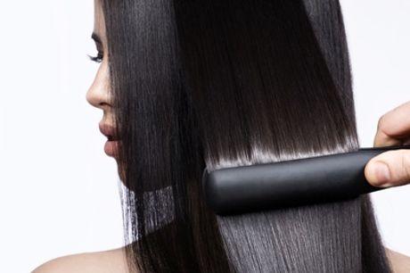 Braziliaanse keratine of Tannine behandeling voor alle haarlengte met verzorgingspakket bij Amania