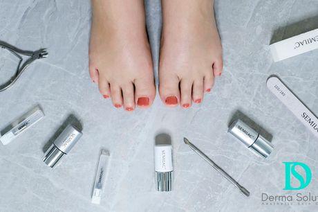 Luksus-pedicure. Få smukke fødder og farvefine negle med Semilac