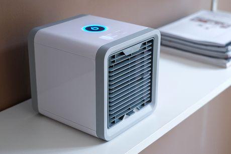 Mobil luftkøler. Hold temperaturen rar på kontoret eller hjemme